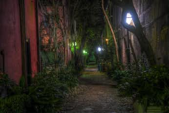 Philadelphia Alley, another stop on our haunted ghost walks