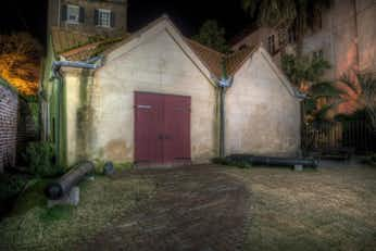 The Powder Magazine, one of Charleston's haunted locations