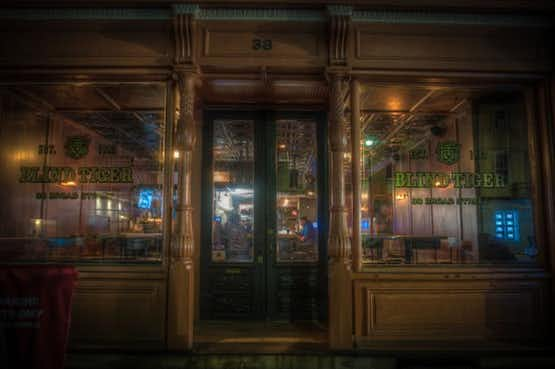 The Blind Tiger Pub, one of Charleston's most haunted pubs.