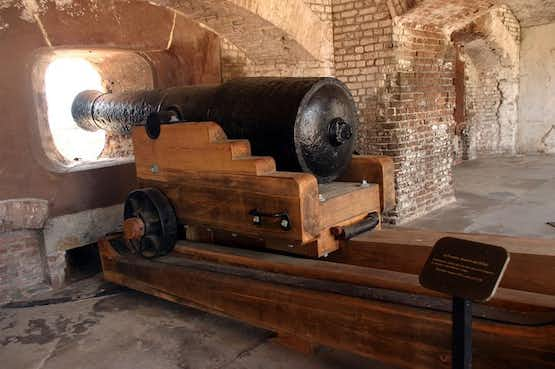 Fort Sumter is rumored to be one of the most haunted places in Charleston