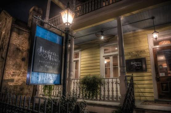 A photo of Poogan's Porch, one of Charleston's most haunted restaurants