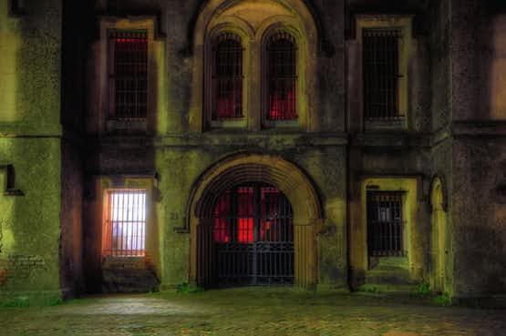 Charleston's most haunted place, the Old City Jail, where ghosts still roam.