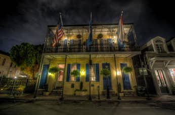 The Andrew Jackson Hotel, one of the haunted stops on our tours