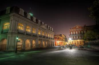 Is Jackson Square, in New Orleans, haunted?